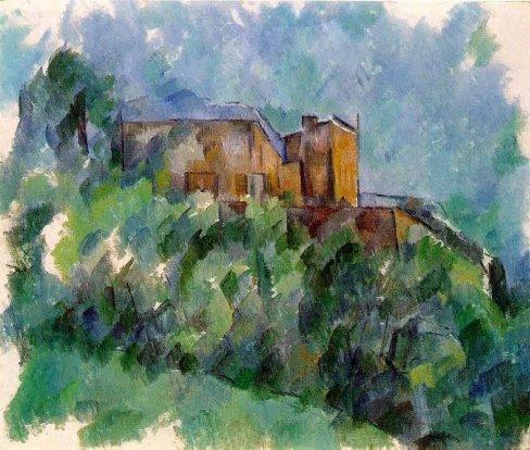 Paul Cezanne - Chateau Noir 1
