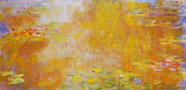 Claude Monet - The Water-Lily Pond 2