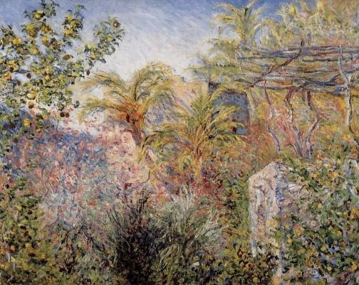 Claude Monet - The Valley of Sasso, Bordighera 1