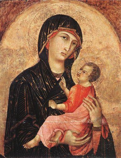 Duccio di Buoninsegna - Madonna and Child 2