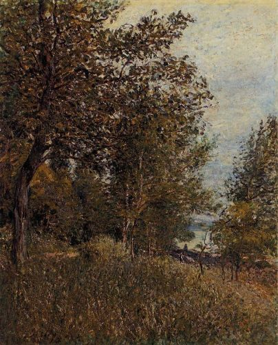 Alfred Sisley - A Corner of the Roches-Courtaut Woods, June