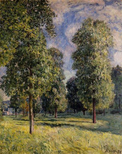 Alfred Sisley - Landscape at Sevres