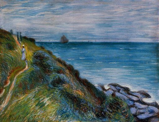 Alfred Sisley - On the Cliffs, Langland Bay