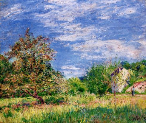 Alfred Sisley - Orchard in Spring