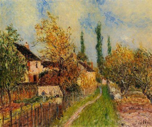 Alfred Sisley - Path at Sablons