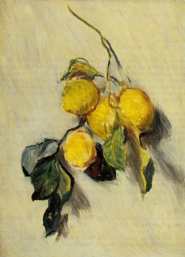 Claude Monet - Branch of Lemons