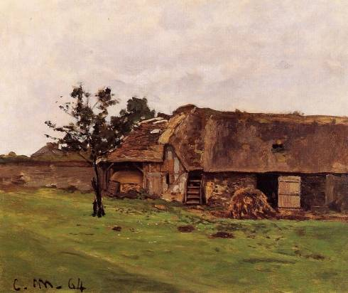 Claude Monet - Farm near Honfleur