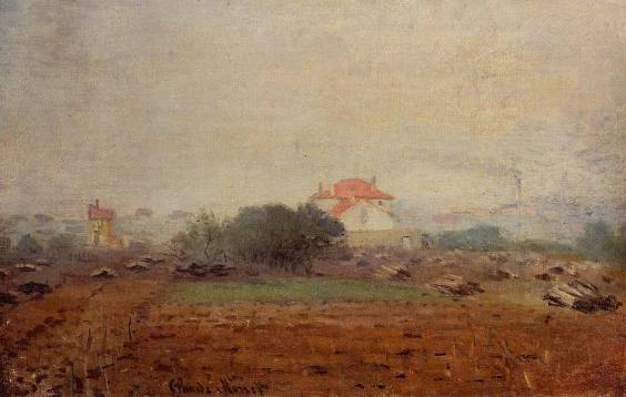 Claude Monet - Fog Effect