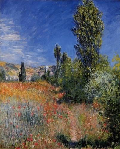 Claude Monet - Landscape on the Ile Saint-Martin