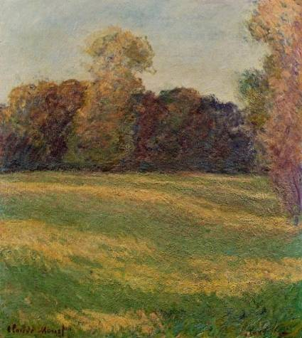 Claude Monet - Meadow in the Sun