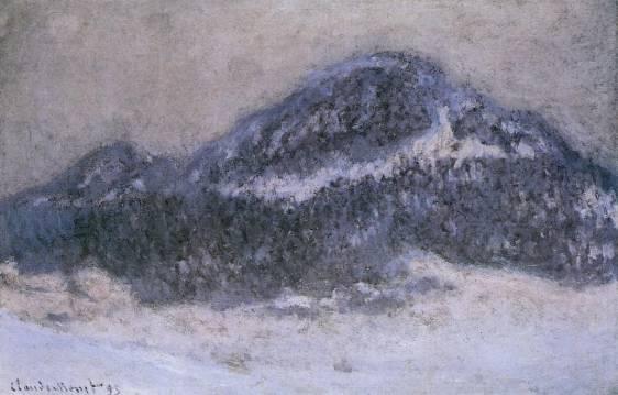 Claude Monet - Mount Kolsaas in Misty Weather