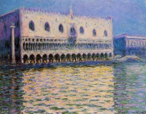 Claude Monet - Palazzo Ducale