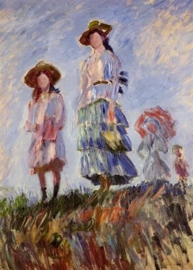 Claude Monet - Promenade (study)