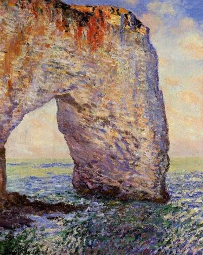 Claude Monet - The Manneport, Etretat 2