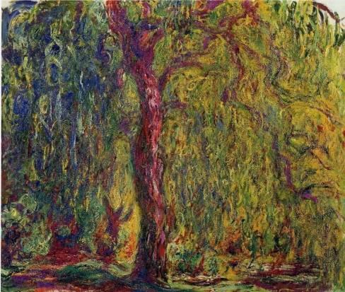 Claude Monet - Weeping Willow 4