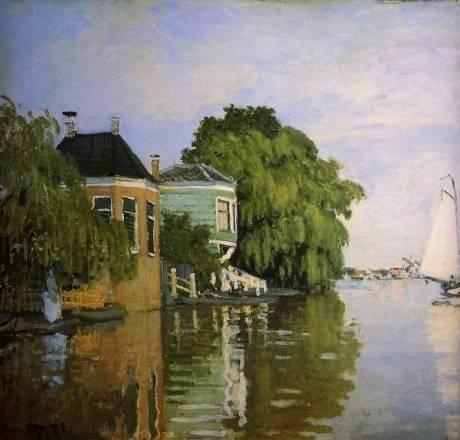 Claude Monet - Zaandam 2
