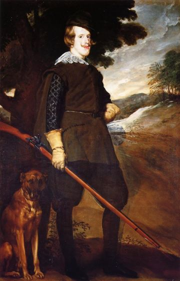 Diego Velazquez - Philip IV as a Hunter