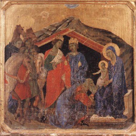 Duccio di Buoninsegna - Adoration of the Magi