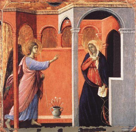 Duccio di Buoninsegna - Annunciation
