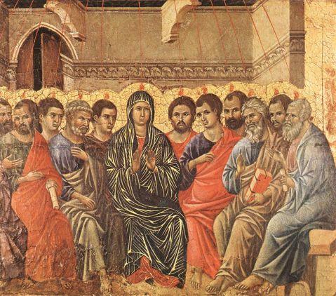 Duccio di Buoninsegna - Pentecost