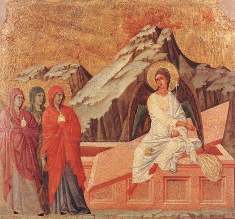 Duccio di Buoninsegna - The Three Marys at the Tomb
