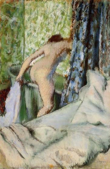 Edgar Degas - The Morning Bath