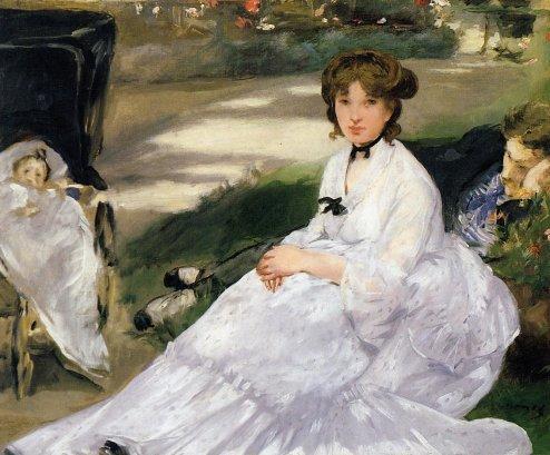 Edouard Manet - In the Garden