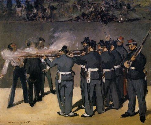 Edouard Manet - The Execution of the Emperor Maximillian 1
