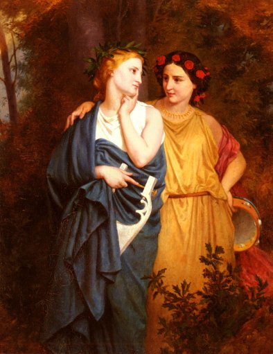 Elizabeth Gardner Bouguereau - Philomena And Procne