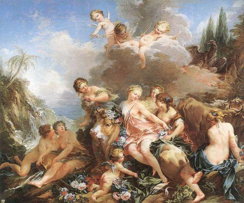 Francois Boucher - The Rape of Europa