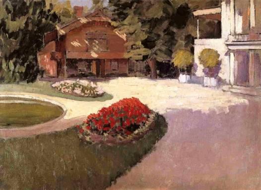 Gustave Caillebotte - Garden at Yerres