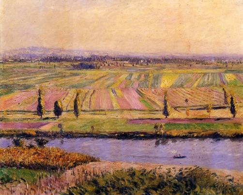 Gustave Caillebotte - The Gennevilliers Plain, Seen from the Slopes of Argenteuil