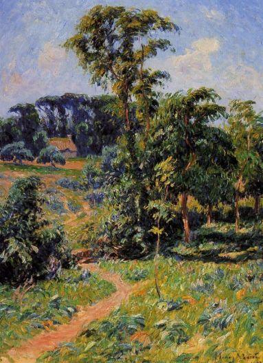 Henri Moret - The Pen-Clun Valley, Clohars, Caronet