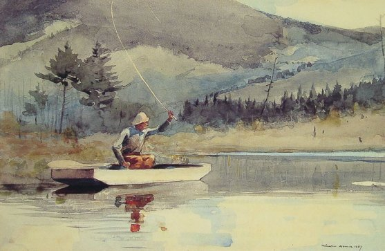Homer Winslow - A Quiet Pool On A Sunny Day