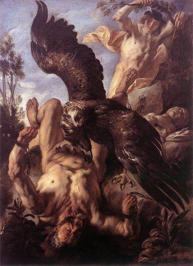 Jacob Jordaens - Prometheus Bound