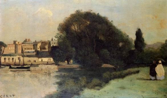 Jean-Baptiste-Camille Corot - Richmond, near London