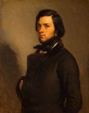 Jean Francois Millet - Portrait of a Man
