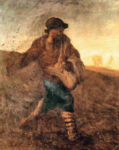 Jean Francois Millet - The Sower