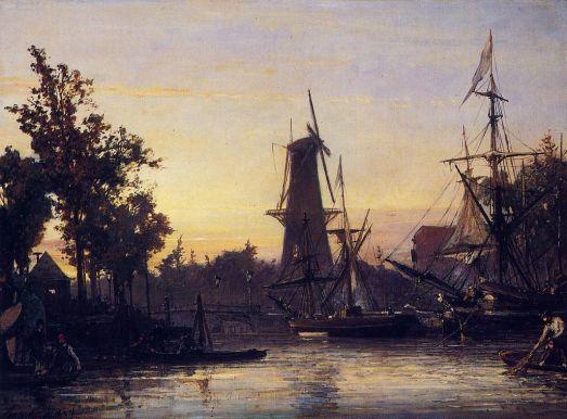 Johann-Barthold Jongkind - Binneshaven, Rotterdam