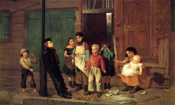 John George Brown - The Bully of the Neighborhood