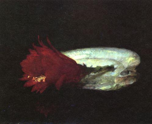John La Farge - Shell and Flower