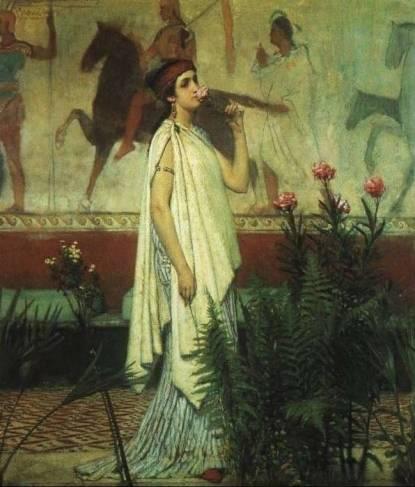 Lawrence Alma-Tadema - A Greek Woman