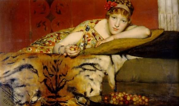 Lawrence Alma-Tadema - Cherries