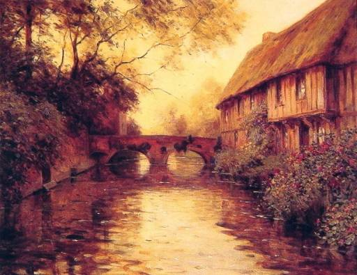 Louis Aston Knight - Houses by the River