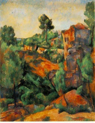 Paul Cezanne - Bibemus Quarry 2