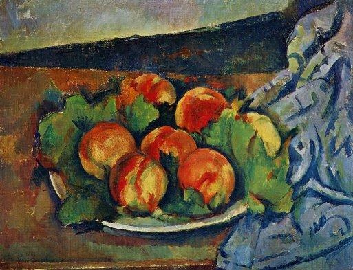 Paul Cezanne - Dish of Peaches