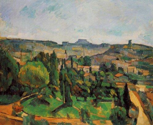 Paul Cezanne - Ile de France Landscape 2