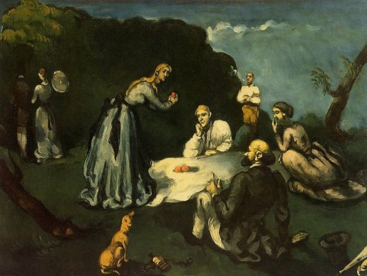 Paul Cezanne - Luncheon on the Grass