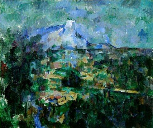 Paul Cezanne - Mont Sainte-Victoire Seen from les Lauves 4