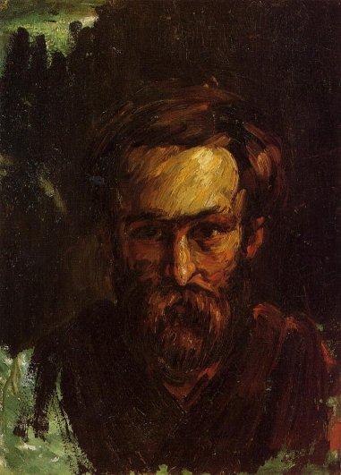 Paul Cezanne - Portrait of a Man 2